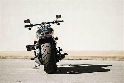 Breakout Harley Davidson Softail Motorcycle Wallpapers Rear