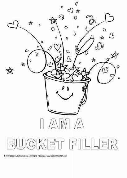 Bucket Coloring Filler Today Filling Activities Filled