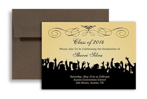 free graduation announcements templates free graduation invitation templates for word 2018 world of reference