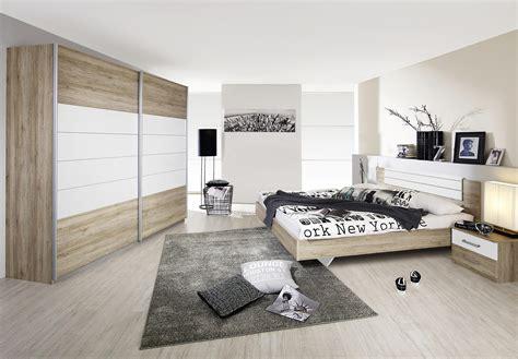 chambres d h es barcelone chambre adulte contemporaine coloris chêne clair blanc