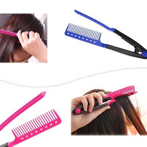 hair combs styles aliexpress buy fashion v type hair comb hair 6989