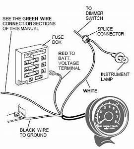 Alumacraft Wiring Diagram Tach. tach install ford truck ... on