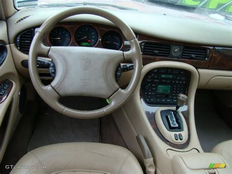 jaguar xj xj oatmeal dashboard photo