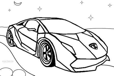 Kleurplaat Lamborghini Sesto Elemento by Printable Lamborghini Coloring Pages For Cool2bkids