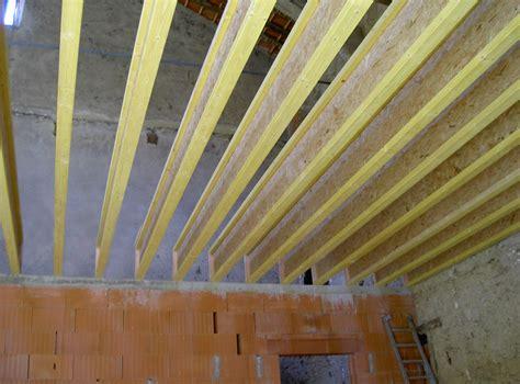 plancher bois en poutre i