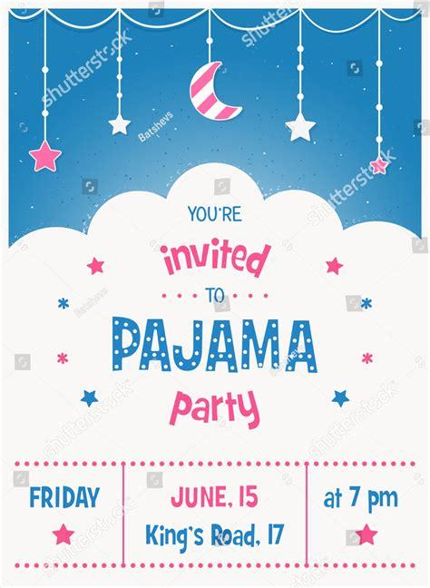 slumber party invitation designs examples