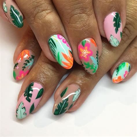 tropical nail designs 12 nail designs to try this weekend