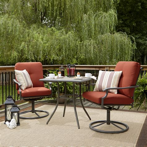 garden oasis brookston 3 bistro set terracotta