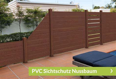 Sichtschutz Garten Kunststoff Holzoptik by Sichtschutz Holzoptik Sichtschutzzaun Shop De