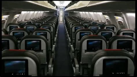 cabin  brand  american airlines boeing