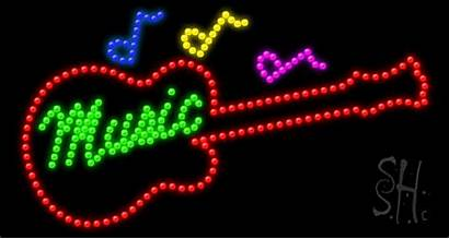 Sign Led Neon Signs Instruments Animated Giant