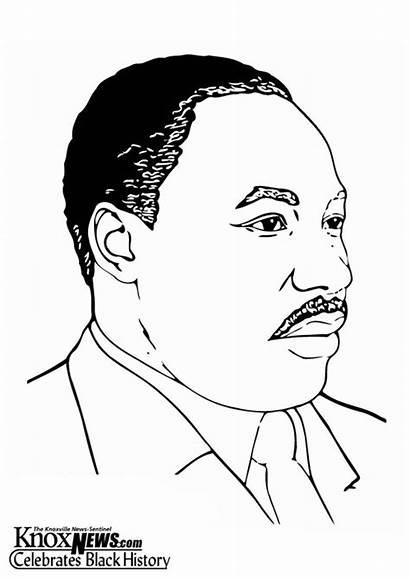 Luther Martin King Jr Disegno Colorare Disegni