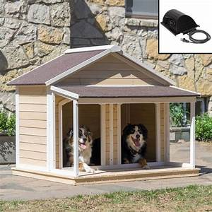 25 best ideas about large dog house on pinterest in the With heated dog house for two dogs
