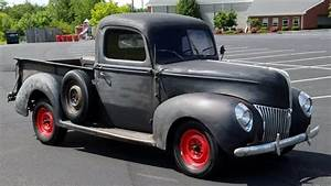 Rugged Good Looks  1940 Ford Pickup