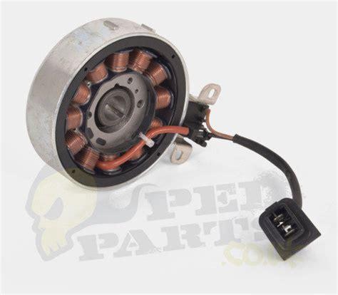 piaggio 4t 50 100cc stator flywheel kit pedparts uk
