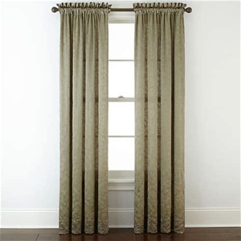 royal velvet 174 embroidery rod pocket curtain panel
