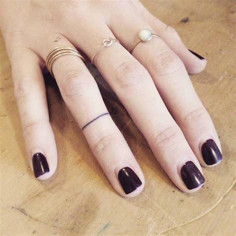 ring tattoos ideas  pinterest ring finger