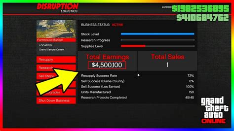 gta    gunrunning money method