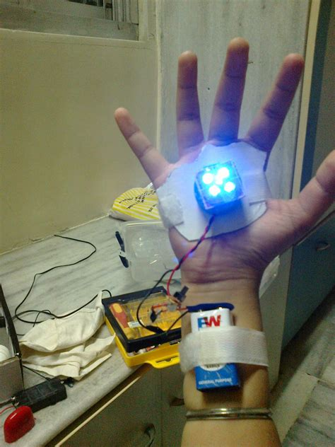 simple iron man hand repulsor  steps instructables