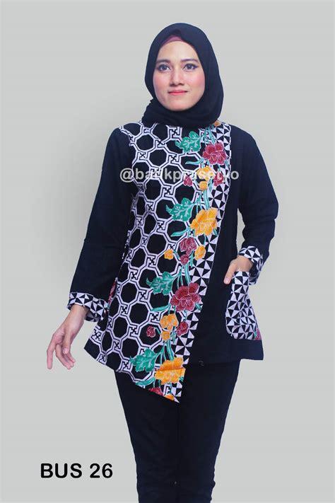 blus batik wanita modern 26 batik prasetyo