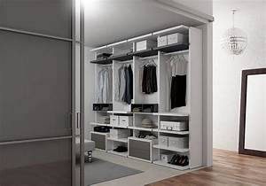 Begehbarer Kleiderschrank Design : cabina armadio in frassino con scarpiera e mensole idfdesign ~ Frokenaadalensverden.com Haus und Dekorationen
