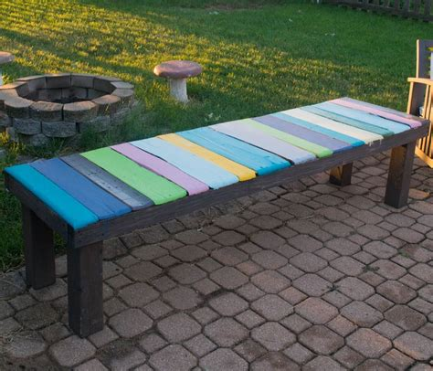 diy wood pallet bench  cost  easy   pallet