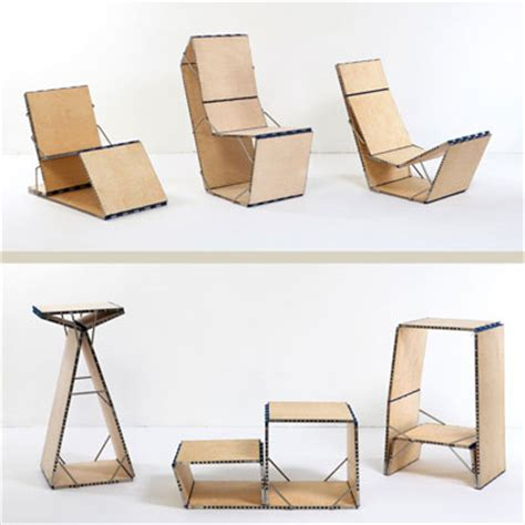loop chair by boaz mendel cleverest space saving folding