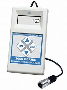 DCF-2000 Superior Performance Coating Thickness Gauge ...
