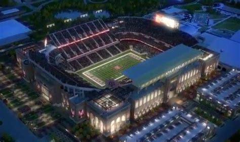 sec football stadiums  current  future capacity