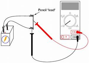 potentiometer as a voltage divider With circuit and the lighter leads will measure the voltage across the