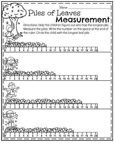 comparing length worksheet school