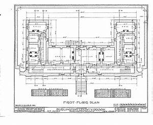 Burlington County Prison Diagrams Burlington County Prison