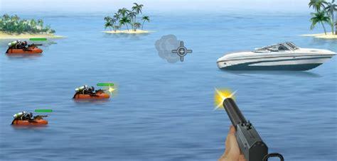 Free Online Speed Boat Games by Speedboat Shooting
