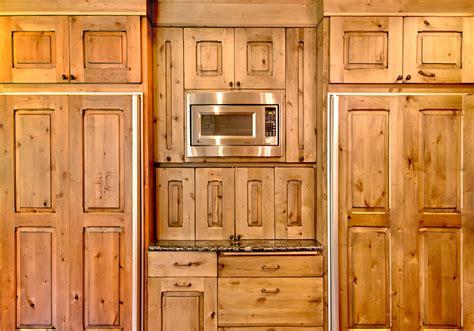 natural rustic alder cabinets distressed kitchen cabinets dakota kitchen and bath