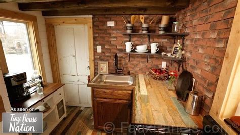 faux brick for kitchen backsplash 30 faux brick and rock panel ideas pictures 8920
