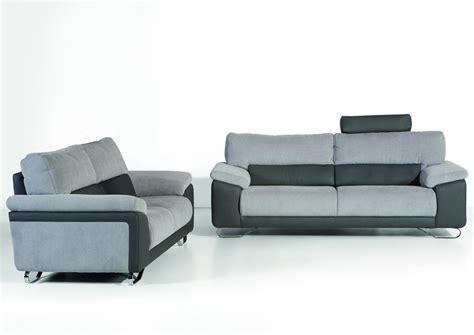canapé tissu microfibre acheter votre canapé contemporain 2 places fixe cuir