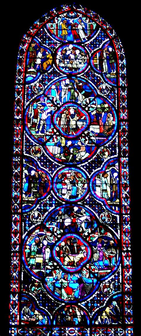 bourges cathedral stained glass