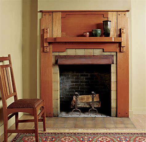 greene  greene fireplace mantel finewoodworking