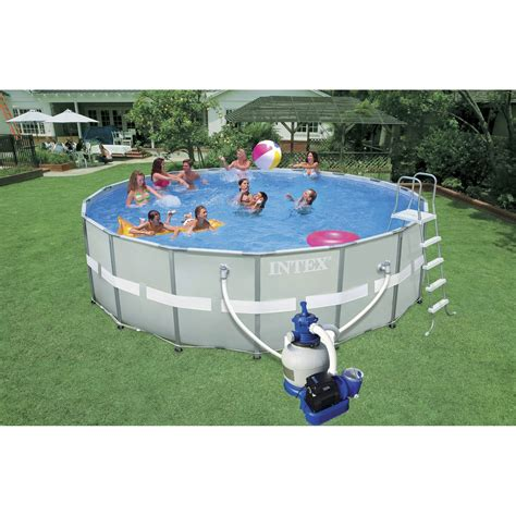 aspirateur piscine leroy merlin piscine hors sol autoportante tubulaire ultra frame intex