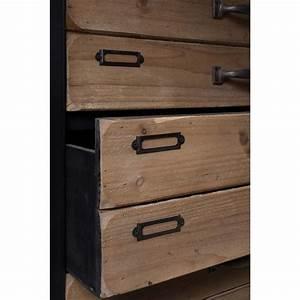 Commode 3 Tiroirs : commode vintage 3 tiroirs sol m par ~ Teatrodelosmanantiales.com Idées de Décoration