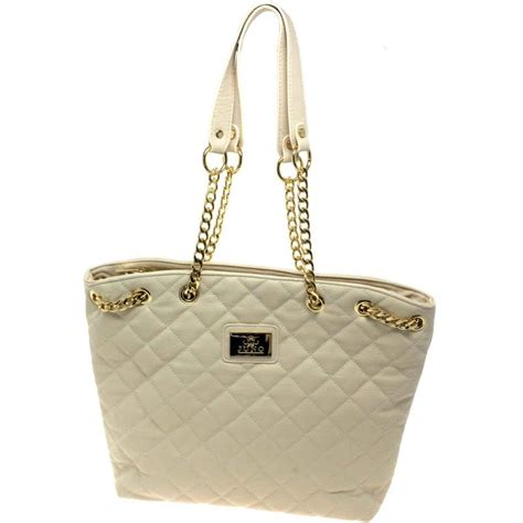 juno  tote neutral quilted charles clinkard