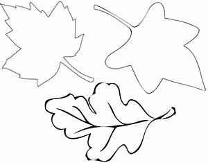 autumn leaf stencil clipart best With autumn leaf template free printables