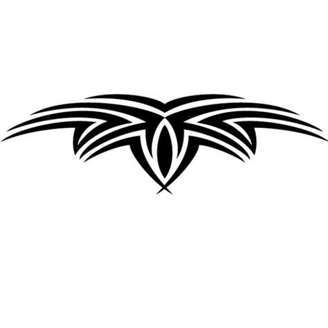black tribal tattoo vector graphic vector