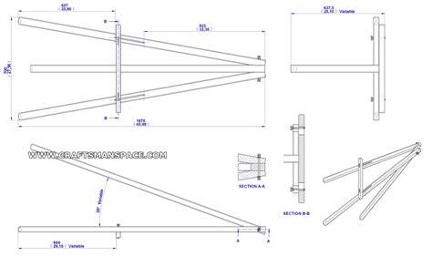 woodwork easel plans  plans