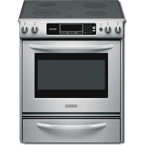 stove flat kitchen oven electric range appliances slide kitchenaid cleaning ovens cooking visit self