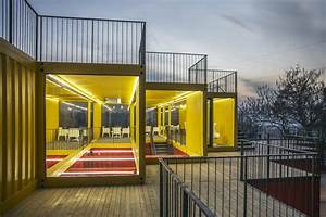 Container Stack Pavilion | People's Architecture - Arch2O.com