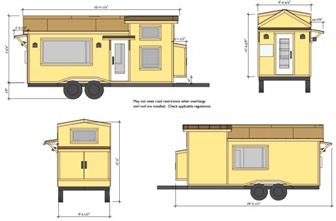 Bauplan Tiny House by Tiny House Bauplan Wohn Design