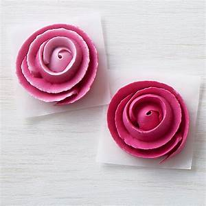 How To Make Icing Ribbon Roses Wilton