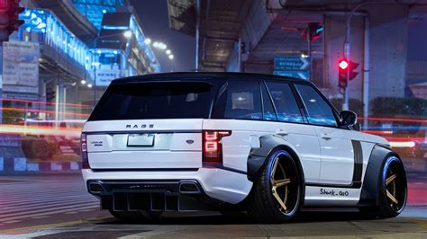range rover art white wallpapers range rover wallpapers