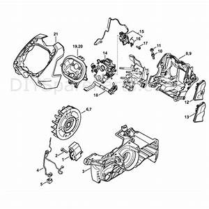 Stihl Ms 441 Chainsaw  Ms441 Cmvwz  Parts Diagram  M